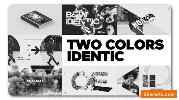 Videohive Two Colors Identic