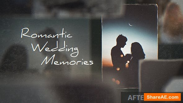 Videohive Romantic Wedding Memories