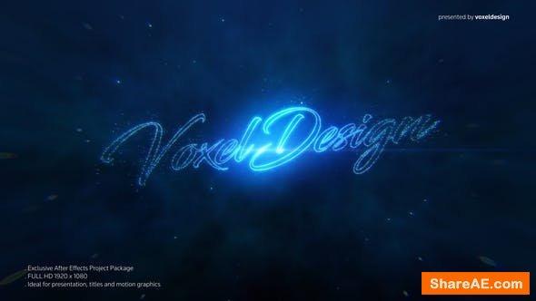 Videohive DUST Logo Reveal