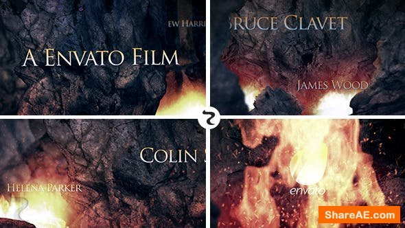 "Videohive Cinematic Opener ""The Cave"""