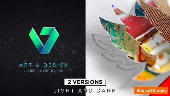 Videohive Drawing 3D Logo Reveal