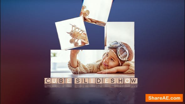 Videohive Cube Slideshow | After Effects Template