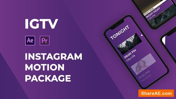 Videohive IGTV – Instagram Motion Pack