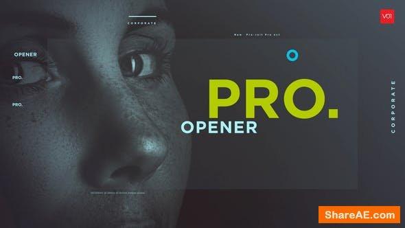 Videohive Typographic Photo Promo Show