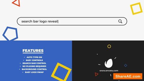 Videohive Search Bar Logo Reveal 25000766