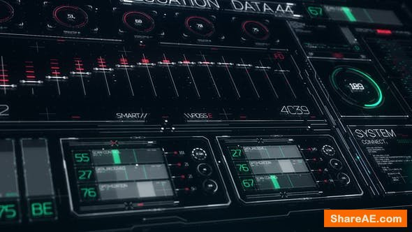Videohive FUI HUD Design Elements