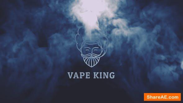Videohive Vape Logo Reveal