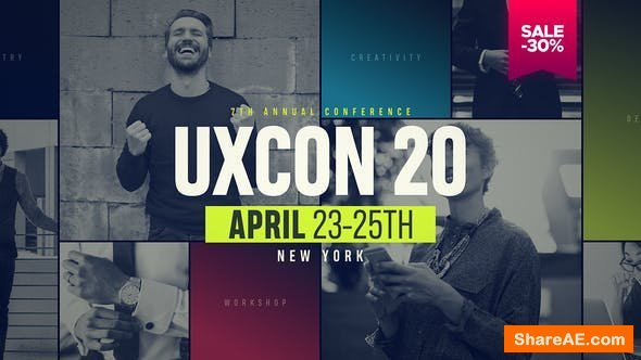 Videohive UXConference // Event Promo