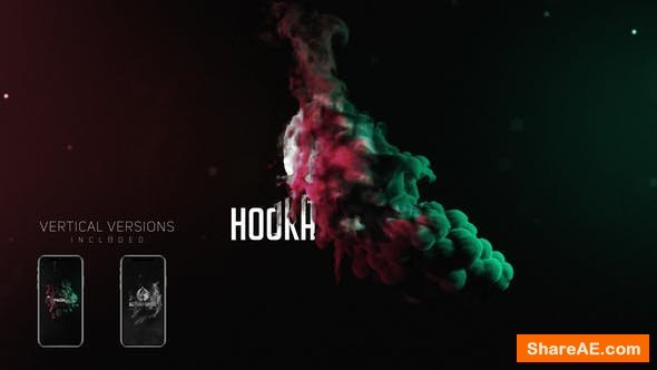 Videohive Smoke Logo Reveal Pack