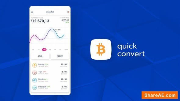 Videohive Cryptocurrency App Promo