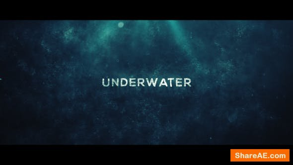 Videohive Underwater Trailer