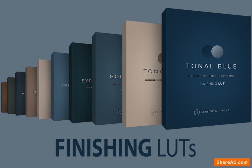 Lens Distortions - Finishing LUTs Bundle