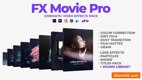 Videohive FX Movie Pro Pack - Premiere Pro & After Effects