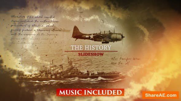 Videohive The History Slideshow