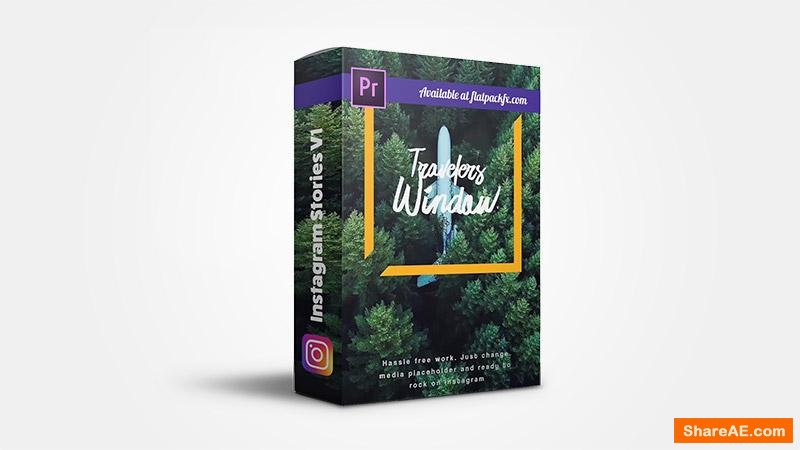 Flatpackfx Instagram Stories V1 - Premiere Pro