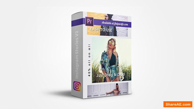 Flatpackfx Instagram Stories V2 - Premiere Pro