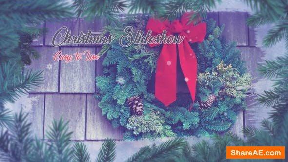 Videohive Winter Photo Slideshow