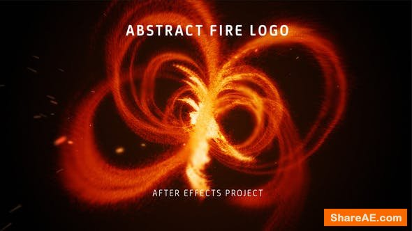 Videohive Abstract Fire Logo