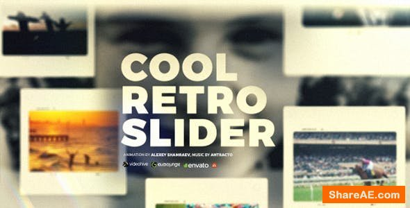 Videohive Dynamic Slideshow | Retro Slider