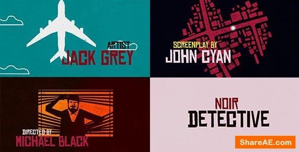 Videohive Noir Detective