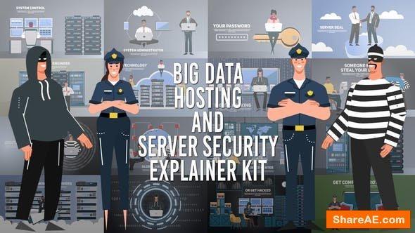 Videohive Big Data Hosting and Server Security Explainer Kit