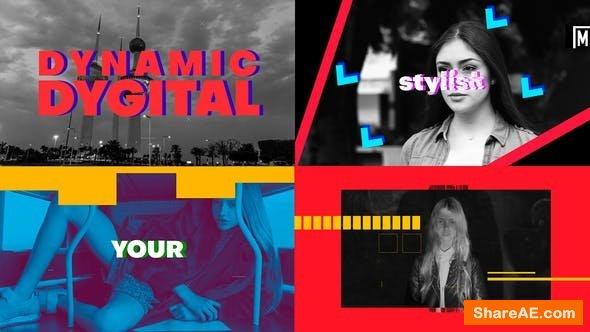 Videohive Dynamic Digital Intro