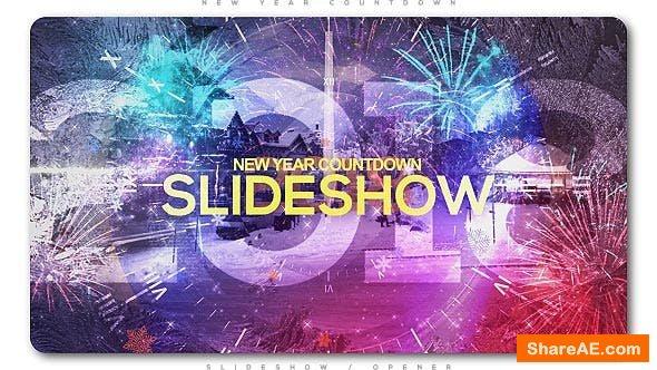 Videohive New Year Countdown Slideshow | Opener