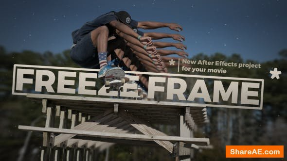 Videohive 3D Freeze Frame