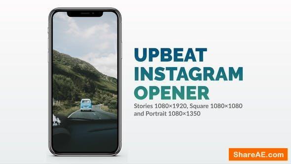Videohive Upbeat Instagram Opener
