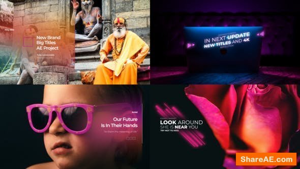 Videohive Big Titles