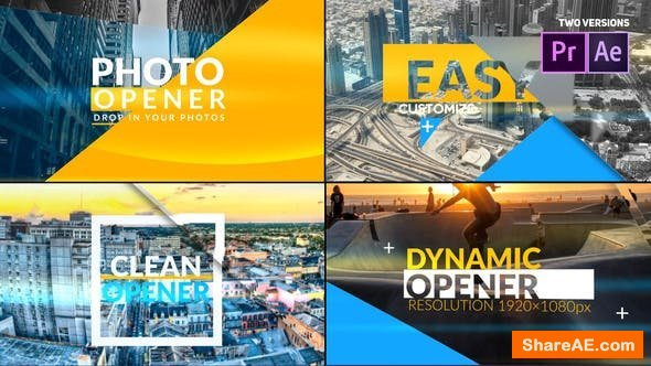 Videohive Modern and Fast Event Opener - Premiere Pro