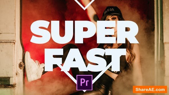 Videohive Super Fast Promo - Premiere pro