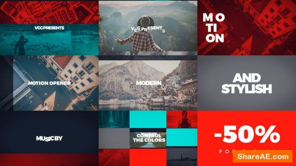 Videohive Motion Opener 21643978