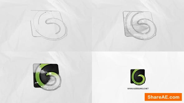 Videohive Logo Reveal Ink