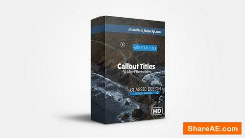 Flatpackfx Callout Pack - After Effects