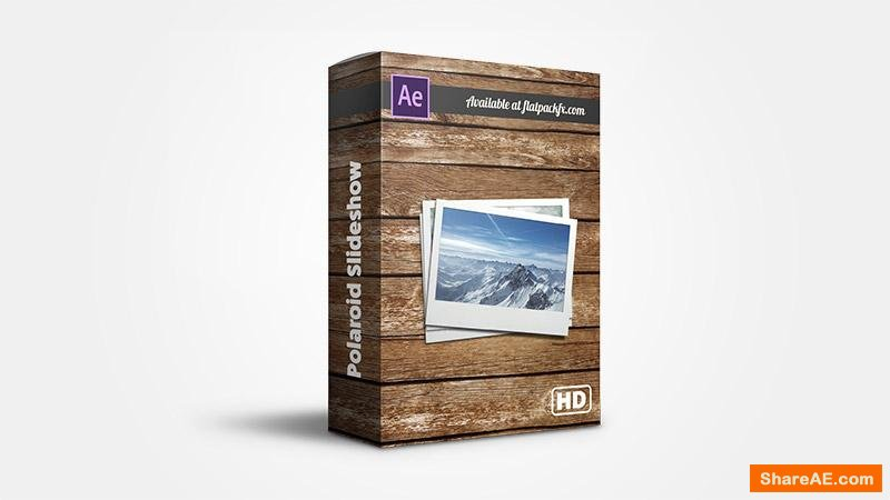Flatpackfx Polaroid Slideshow - After Effects