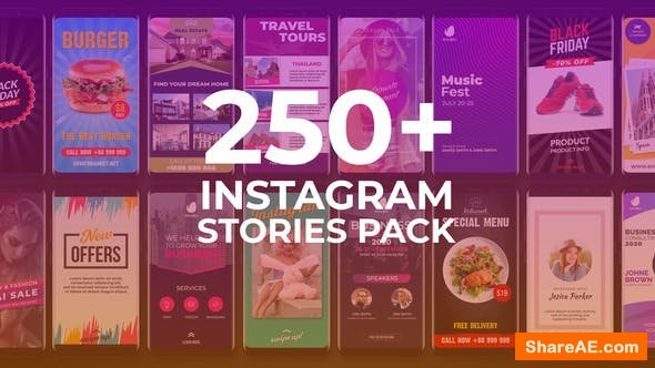 Videohive Instagram Stories 23898656