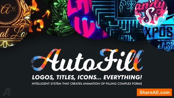 Videohive AutoFill - Automatically Animate Titles, Logo Reveals, Animate Icons