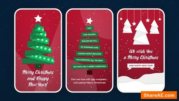 Videohive Christmas Stories 25064347