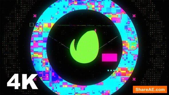 Videohive Fast Glitch Intro 23645034