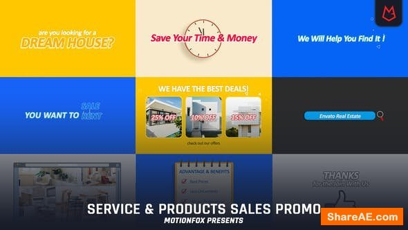 Videohive Products & Service Promo