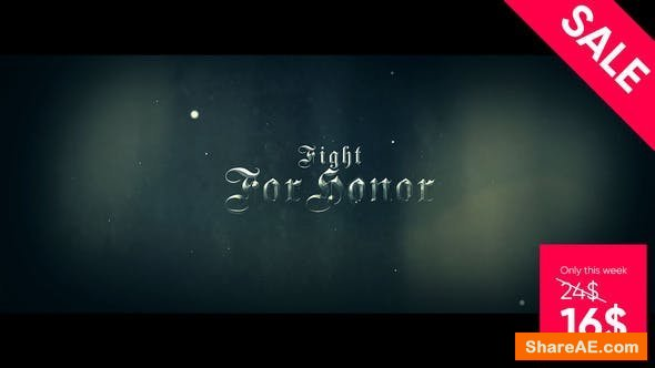 Videohive Cinematic Historical Trailer - For Honor