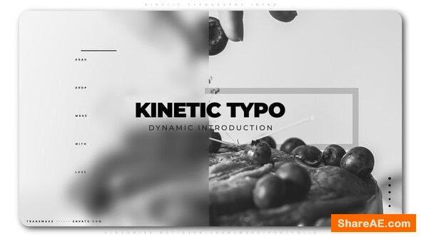 Videohive Kinetic Typography Intro