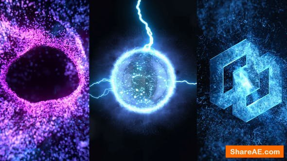 Videohive Energy Vortex Logo Reveal