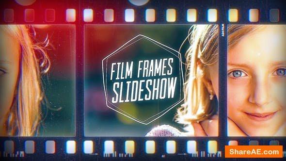 Videohive Film Frames Slideshow
