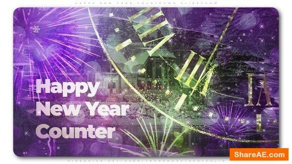 Videohive Magical Countdown New Year Slideshow