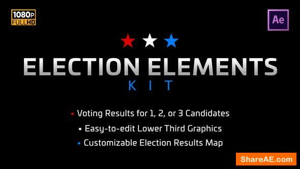 Videohive Election Elements Kit