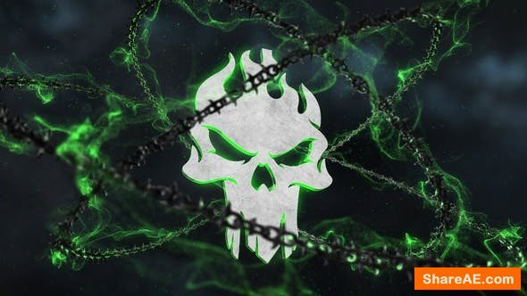 Videohive Dark Chains Horror Logo