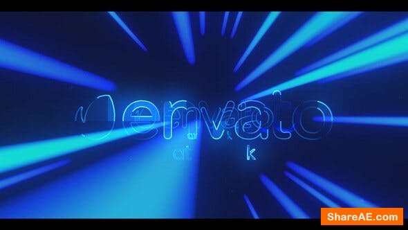 Videohive Hyper Light Logo Reveal