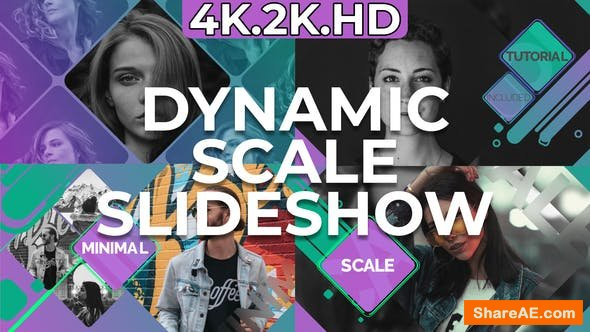 Videohive Dynamic Scale Slideshow